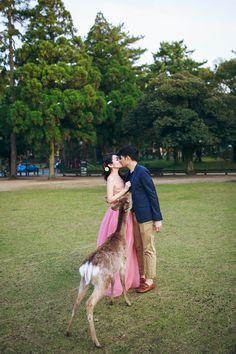 Ghia Jun and Zee Yin's Engagement Shoot in Kyoto, Japan