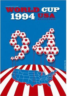 Official poster of the 1994 FIFA World Cup in the United States Retro Football, World Football, Soccer World, Football Cards, World Cup Russia 2018, World Cup 2014, Fifa World Cup, Messi, Word Cup