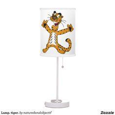 Lamp. tiger.
