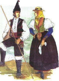 traje típico de la isla de el hierro