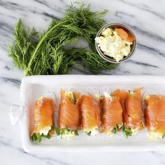 Egg Salad Salmon Rol