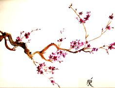 17 Ideas sakura tree branch drawing for 2019