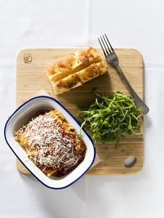 USED!!!!M E N U / / Every good mother makes a good lasagne, our mums name is Darren and he is no different. Roast vegetable lasagne with 3 cheese & garlic.