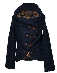 Deleia Cowl Neck Jacket By Desigual.<3 LOVE<3