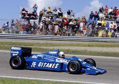 Andrea de Cesaris Ligier - Renault 1985