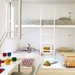 Veja diversos modelos de quartos pequenos com beliche e algumas dicas de decorações para seu quarto.