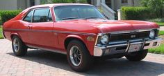 1970 Chevy Nova.