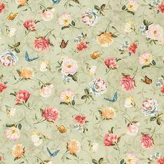 Delicate Romance with Butterflies-Wilmington Prints