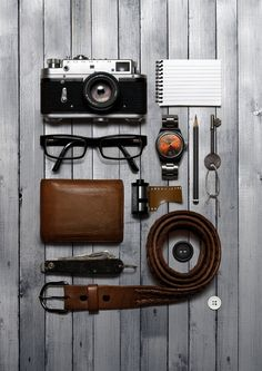 Pocket Possessions by Josh Caudwell, via Flickr
