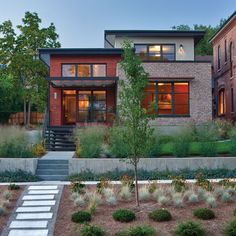 12 Strategies for Inspired Efficiency - Healthy Home - Mother Earth Living- articles misses the tremendous benefit of brick's thermal mass. Plus, it certainly adds to the beauty of the home design.