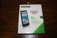cool New Cricket Wireless Alcatel OneTouch Flint 4G 16GB Memory Prepaid Cell Phone Check more at https://aeoffers.com/product/cell-phones-and-accessories/new-cricket-wireless-alcatel-onetouch-flint-4g-16gb-memory-prepaid-cell-phone/