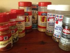 Homemade Taco Seasoning Recipe - 5 minutes to make 5 packets for a fraction of the cost.