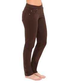 Loving this Mahogany Skinny Jeans - Plus Too on #zulily! #zulilyfinds