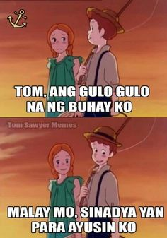 Oh may ghad Tagalog Quotes Funny, Tagalog Quotes Hugot Funny, Pinoy Quotes, Sarcasm Quotes, Jokes Quotes, Qoutes, Memes Pinoy, Pinoy Jokes Tagalog, Pick Up Lines Tagalog