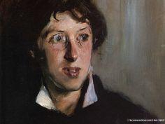John Singer Sargent. Portrait of Vernon Lee (Violet Paget), 1881. Oil paint on canvas.