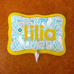 Personalized Wall Hanger with Hook