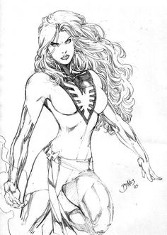 Phoenix by Ed Benes, in the January Astonishing X-men Comic Art Sketchbook Comic Book Artists, Comic Book Characters, Marvel Characters, Comic Artist, Comic Character, Comic Books Art, Marvel Girls, Marvel Art, Marvel Heroes