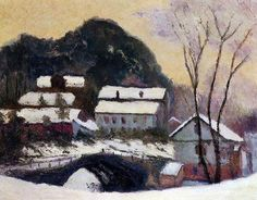 Claude Monet. Sandviken, Norway, 1895. #art #Monet #impressionism #painting #paint