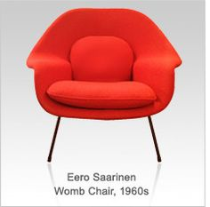 LOVE LOVE LOVE Eero Saarinen Womb Chair, 1960s