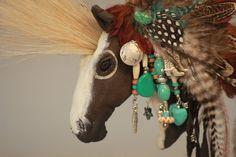 Horse ornament handmade