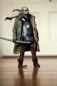 3A Tomorrow King | Custom 1/6 Urban Samurai TK by Bob Harris