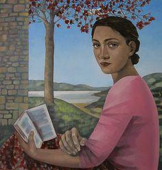 Summer Solace by British Contemporary Artist Liz RIDGWAY