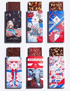 Which would you choose? Unique chocolate package based on US presidential election motif