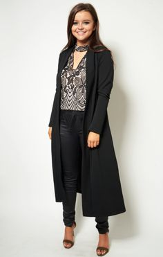Duster Coat, Queens, Pants, Jackets, Collections, Black, Products, Fashion, Trouser Pants