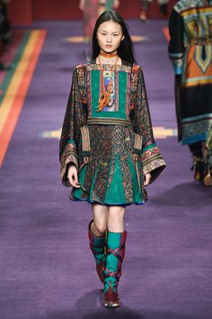 Etro Fall 2017 Ready-to-Wear Collection Photos -oritalism of middle eastern