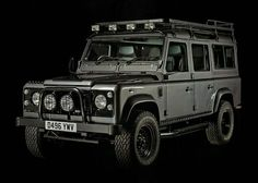Vintage Land Rover Defenders by West Coast Defender