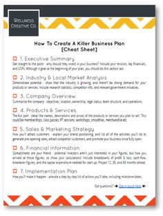 40 best starting a gym business images on pinterest in 2018 gym business plan templates plus free cheat sheet pdf friedricerecipe Gallery
