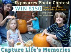 Win $150 toward your next Exposures purchase! See our Facebook page for more details. #PhotoContest #Giveaway #Win #Contest