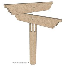 A ShadeScape® shade structure from Western Timber Frame™ is. How can installing a massive, oversized timber frame structure be a fun Timber Pergola, Outdoor Pergola, Diy Pergola, Small Pergola, Pergola Kits, Pergola Ideas, Outdoor Dining, Backyard Shade, Pergola Shade