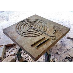 Il Labirinto di Ravenna 65 X 65 CM. - Recuperando