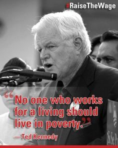 And yet so many people do...we really need to make an effort to address poverty in America.