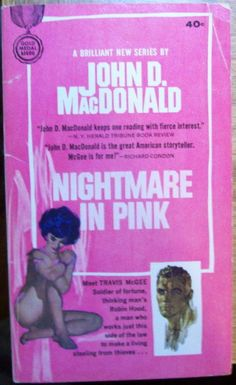 John D MacDonald, Nightmare in Pink, first edition, paperback original