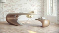 Nebbessa Table: An Ultra-modern Sleek Desk Design I'm sure you have seen many cool desk tables especially those that have modern and contemporary designs. But you will see a different level of creativity and artistry when a something comes with an ultra-modern design. You will feel like ...