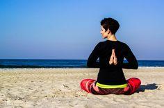 Beach Yoga with Holistic Yoga Berlin at Międzywodzie, Poland