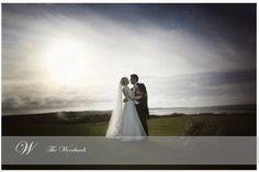 The happy couple against the Atlantic. Image by Woodard Photography Ireland Wedding, Irish Wedding, Golf Wedding, Destination Wedding, Christmas Day Celebration, Ashford Castle, Wedding Places, Wedding Advice