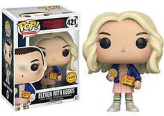 Funko POP! TV Stranger Things Eleven In Wig w/ Eggos Chas...