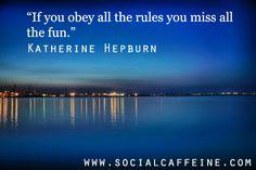 Buzzworthy Quote of the Day: Katherine Hepburn