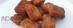 Nugget Udang Pedis - Fried, spicy shrimp nuggets