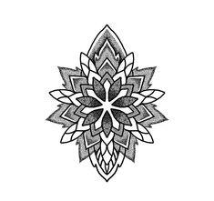 Geometric Tattoo Pattern, Geometric Mandala Tattoo, Geometric Embroidery, Mandala Tattoo Design, Henna Tattoo Designs, Mandala Drawing, Sun Tattoos, Small Tattoos, Sleeve Tattoos
