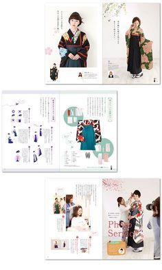 袴カタログ制作 Layout Book, Catalog Design, Graphic Design Art, Art Drawings, Editorial, Advertising, Magazine, Printed, Inspiration