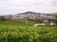 Epernay, France.  Home of Moet & Chandon...yumm.
