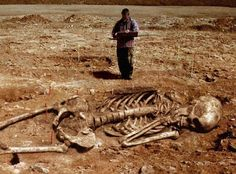 Human Giant Remains Found in Ohio