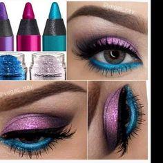 A mi me gusta la combinación mas el azul lindo!!!