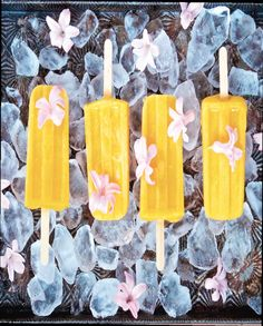 You'll find the roasted peach and jalapeño ice pops recipe in our first magazine, page 44.