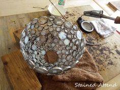 7インチランプ (04/03) - Stained Glass : Stained Attend