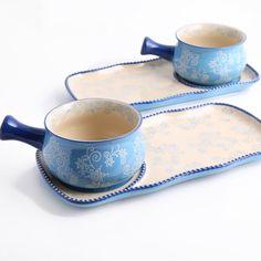 temp-tations® Floral Lace Soup and Sandwich Set :: temp-tations® by Tara